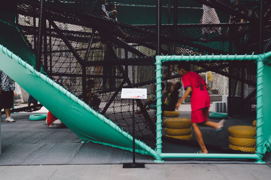 VESPA PLAY OBJECTS สนามเด็กเล่นที่อยากชวนผู้ใหญ่ไปเล่นด้วย